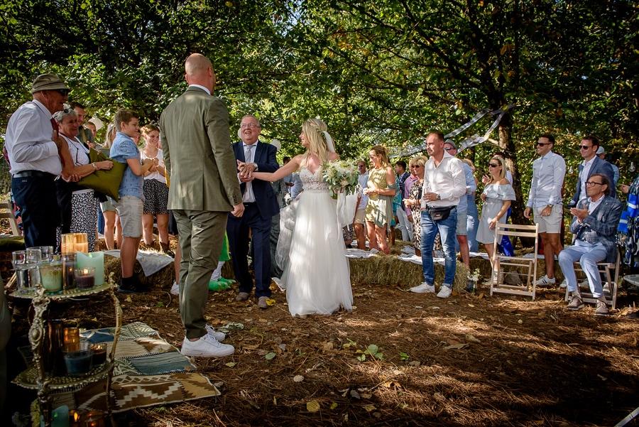 vader geeft de bruid weg Frankrijk
