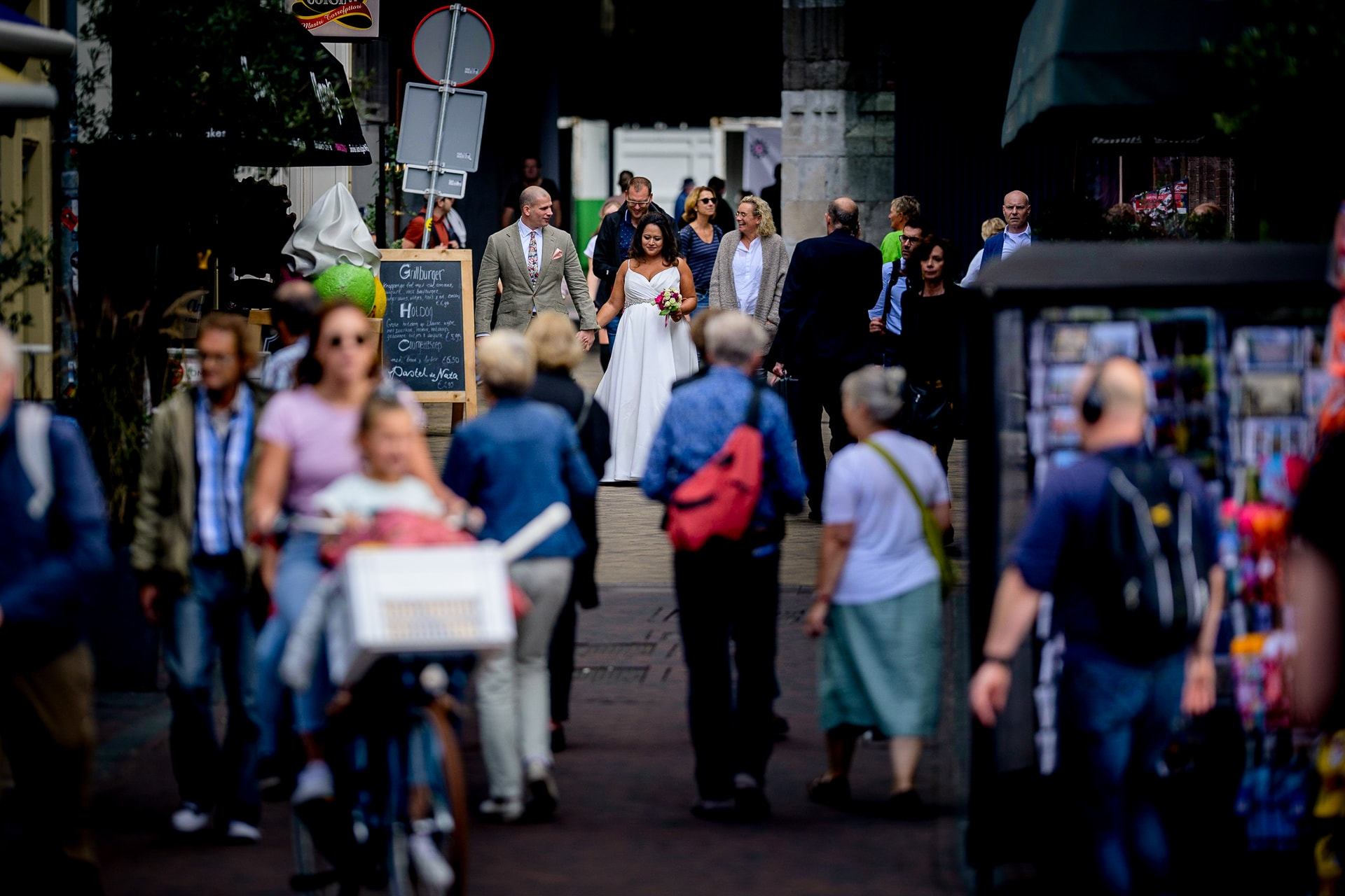 trouwen in Utrecht onder de Dom