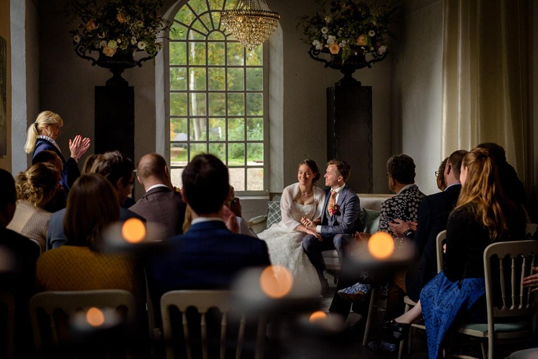sfeervolle trouwceremonie
